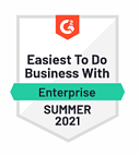 G2 - Easiest to do business with